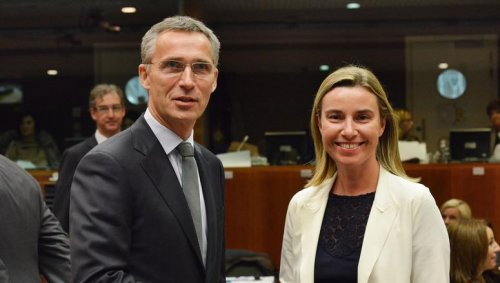 NATO secretary general tells Russia to withdraw its troops from Ukraine