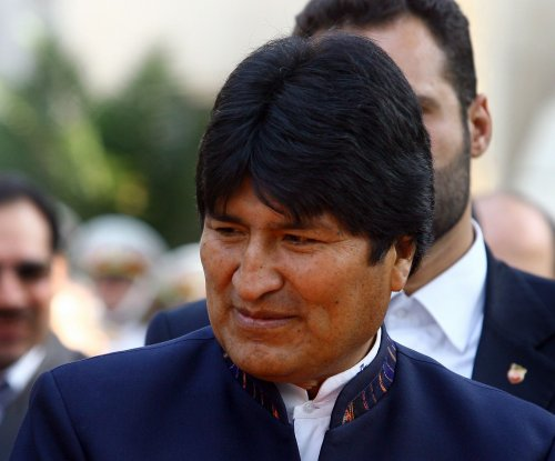 "Bolivian President Morales accuses U.S. of ""economic terrorism"""
