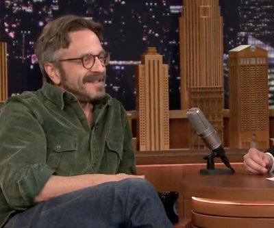 Marc Maron describes security measures around POTUS interview on 'Tonight Show'