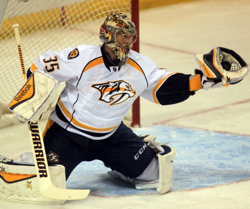 Nashville Predators coach Peter Laviolette tight-lipped on Game 3 starting goalie vs. Pens