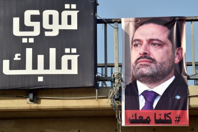Lebanon's president: Saudi Arabia is detaining PM
