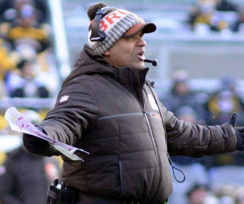Cleveland Browns' Hue Jackson sets date for Lake Erie plunge