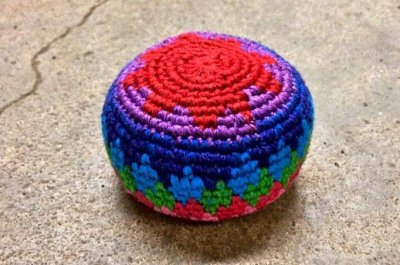 'Hacky Sack guy' sets Guinness record for footbag