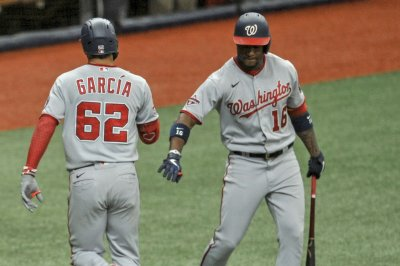 Nationals' Garcia, MLB's youngest player, hits game-winning homer vs. Rays