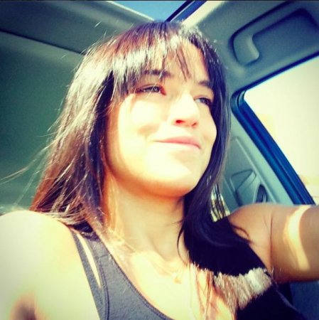 Michelle Rodriguez debuts new bangs in 'new life, new look' selfie