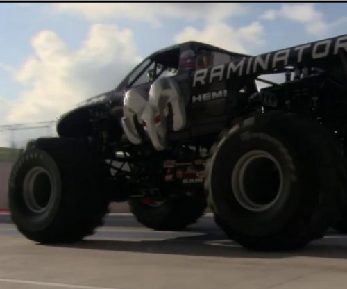 Monster truck breaks Guinness speed record