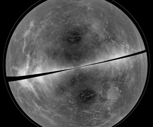 Radar captures imagery of surface of Venus