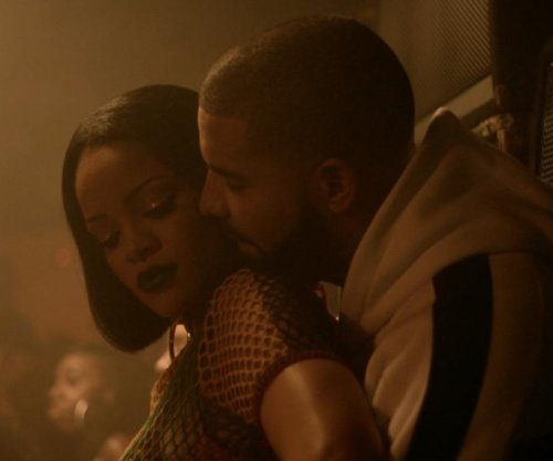 Rihanna, Drake get close in new music video for 'Work'