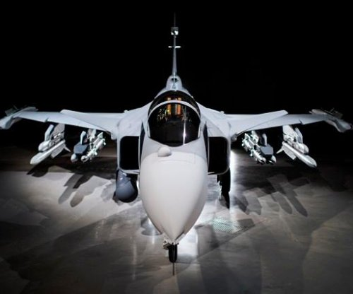 Saab rolls out its Gripen E 'Smart Fighter'