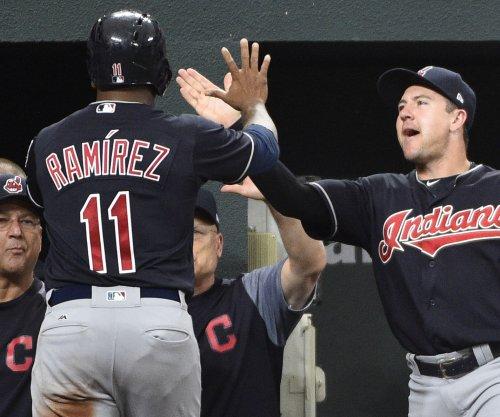 Jose Ramirez powers Cleveland Indians to doubleheader split with Detroit Tigers