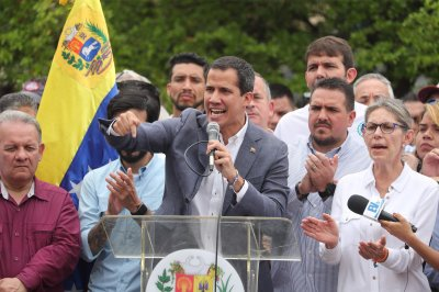 Venezuela opposition leader Guaido seeks cooperation with U.S. military