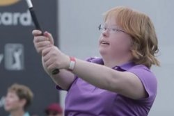 Amy Bockerstette: College golfer with Down syndrome to make history