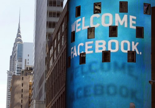 Facebook as public firm has some jitters