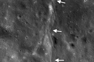NASA: Earth's gravitational pull is 'massaging' a shrinking moon