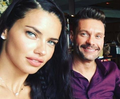 Ryan Seacrest, Adriana Lima reportedly dating