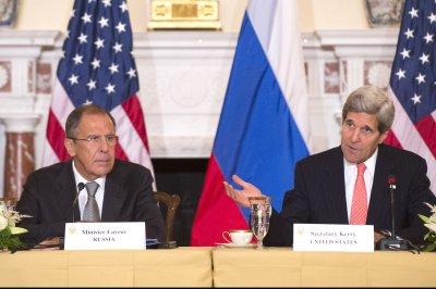 Syrian writers, artists, journalists condemn U.S., Russia involvement