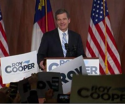 North Carolina Gov.-elect Roy Cooper wants to repeal 'bathroom bill'