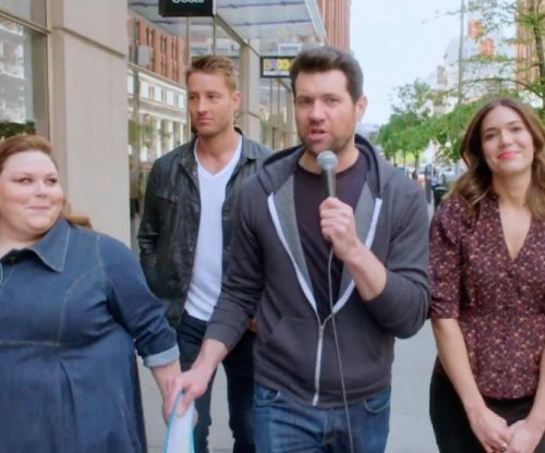 Billy Eichner roams New York with the cast of NBC's 'This Is Us'