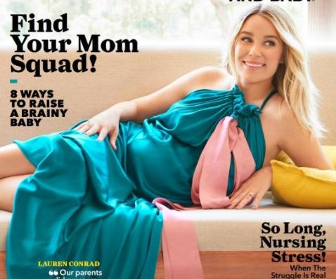 Lauren Conrad 'not worried' about giving birth: 'Maybe I'm just naive'
