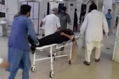 Bombing at Afghanistan mosque kills at least 60
