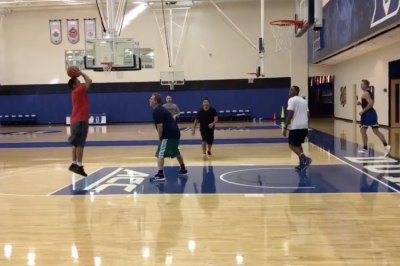 Duke's Luke Kennard balls with Adam Sandler, Rob Schneider, David Spade