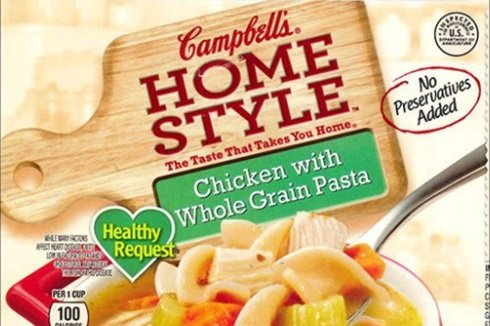 Campbell's recalls 4,000 pounds of chicken soup after label mixup