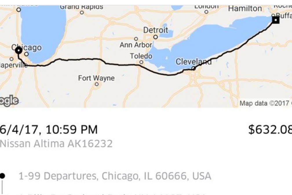 Shareece Wright Buffalo Bills CB Spends On Uber Trip To - Where is buffalo
