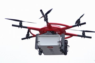 Drone sets new record for transporting blood samples