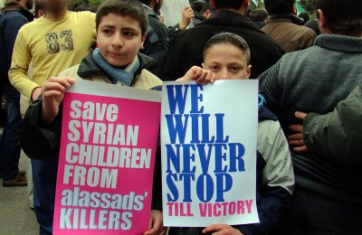 90 killed, many children, in Syria attack