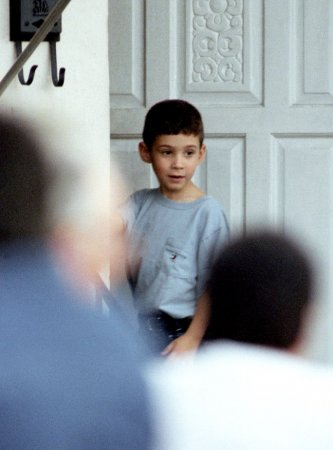 Elian Gonzalez joins young communists