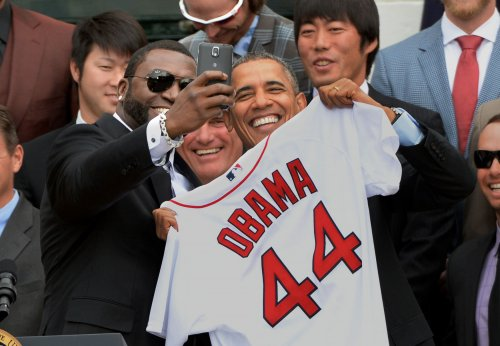 Obama honors World Series champions Red Sox