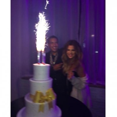 Khloe Kardashian shares birthday photos with French Montana