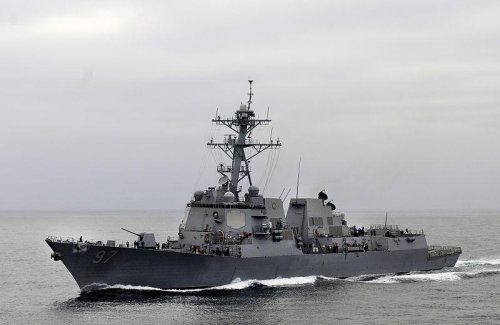 Work moves ahead on two new guided missile destroyers
