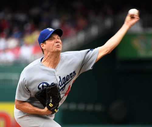 Rich Hill, Los Angeles Dodgers shut down Washington Nationals