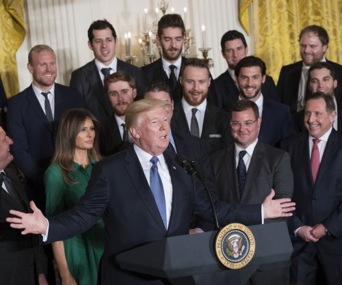 Trump welcomes NHL champion Penguins to White House