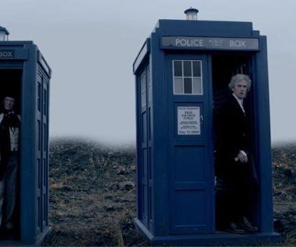 Peter Capaldi says last day of 'Doctor Who' was 'fun and then sad, too'