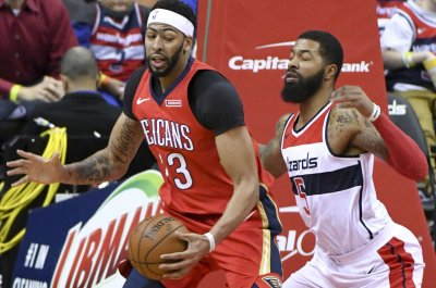 Davis may miss Pelicans' meeting with Blazers