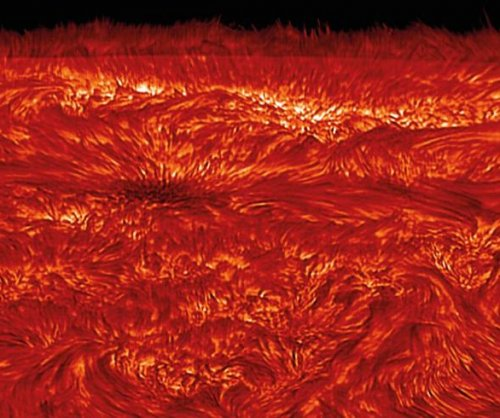 Study explains how magnetic waves heat the sun