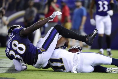 Ravens lose CB Jean-Baptiste to broken arm
