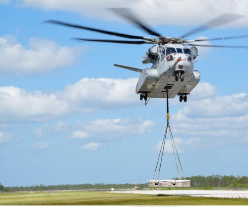 U.S. Navy's King Stallion helicopter completes operational testing
