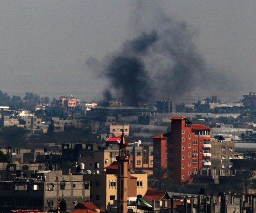 Israel strikes Gaza in retaliation for rocket attack