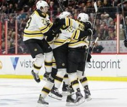Boston Bruins stay alive in first-round series after 2 OT win over Ottawa Senators