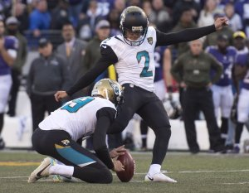 Jacksonville Jaguars give Jason Myers the boot