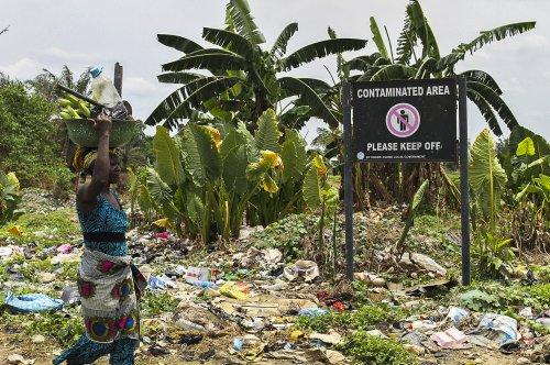 Nigerian oil pipeline shut because of spill