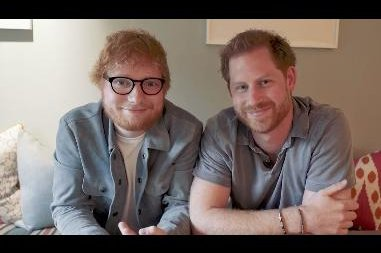 Prince Harry, Ed Sheeran team up in World Mental Health Day video