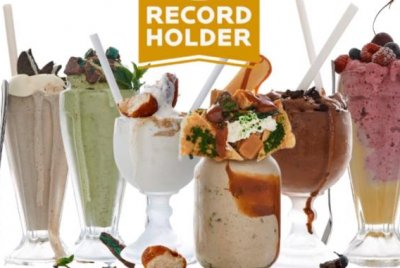 South Africa restaurant sets Guinness record with 207 milkshakes