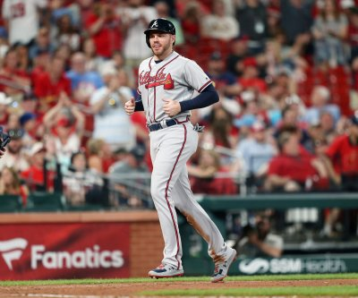 Atlanta Braves' Freddie Freeman dealing with right elbow inflammation