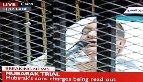 Crowds protest Mubarak trial verdicts