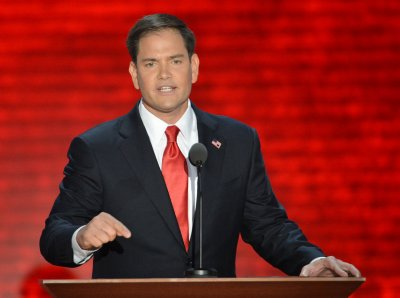 Rubio takes different tack on Rice