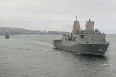 Navy tests two-ship littoral combat group with South America deployment